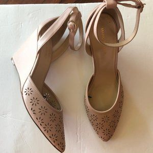 Blush Marc Fisher Wedges